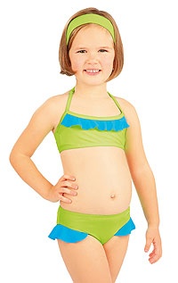 Kid´s swimwear - Discount LITEX > Girl´s ruffle bikini top.