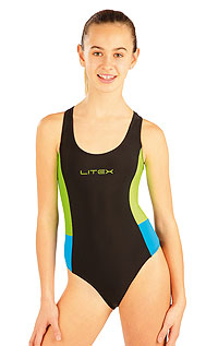Dievčenské jednodielne športové plavky. | Plavky LITEX