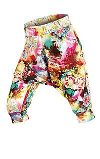 Drop crotch 3/4 length cuffed pants. | LITEX trousers LITEX