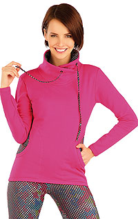 Women´s twisted high neck jumper. | Sportswear LITEX