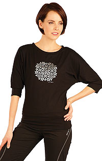 Tričko dámske s 3/4 netopierím rukávom. | Športové oblečenie LITEX