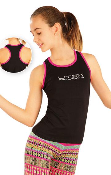 Kinder T-Shirt ohne Ärmel. | Sportmode für Kinder LITEX
