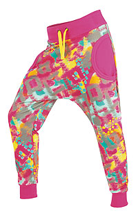 Detské oblečenie LITEX > Tepláky dámske dlhé s nízkym sedom.
