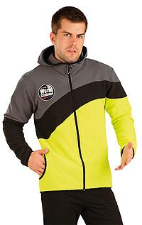Športové oblečenie LITEX > Bunda pánska s kapucňou.