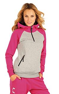 Mikina dámska s kapucňou. | Športové oblečenie LITEX