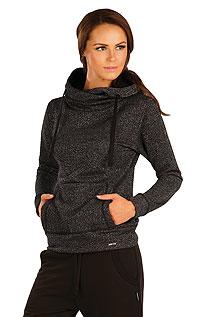 Mikina dámska s prekríženou kapucňou. | Športové oblečenie LITEX