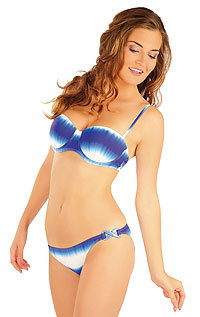 Bikini Oberteil BANDEAU mit Push Up Cups. LITEX