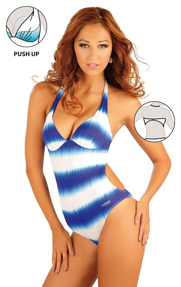 Jednodílné plavky s košíčky push-up. | Jednodílné plavky LITEX