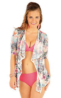 Cardigan with 3/4 length sleeves. | Beach  Accessories LITEX