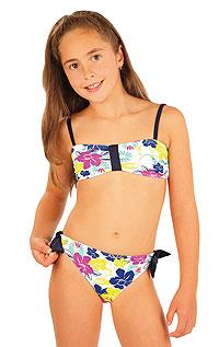 Dívčí plavky podprsenka BANDEAU. | Dívčí plavky LITEX