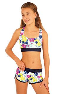 Dívčí plavky sportovní top. | Dívčí plavky LITEX