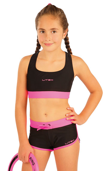 Dievčenské plavkové kraťasy. | Dievčenské plavky LITEX