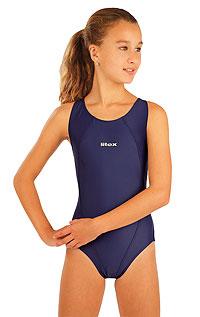 Dívčí jednodílné sportovní plavky. LITEX