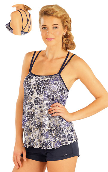 Damen T-Shirt ohne Ärmel. | Strandmode LITEX