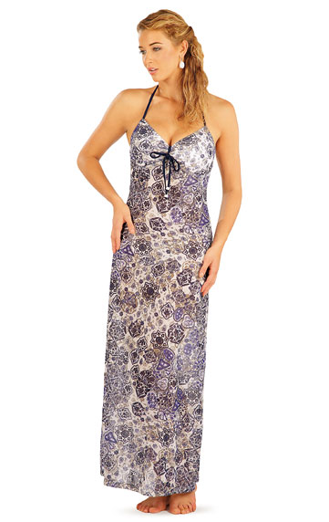 Damen lange Kleid. | Strandmode LITEX