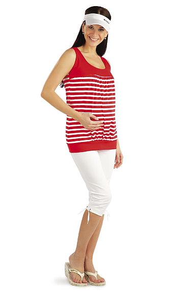Legíny tehotenské v 3/4 dĺžke. | Tehotenské oblečenie LITEX