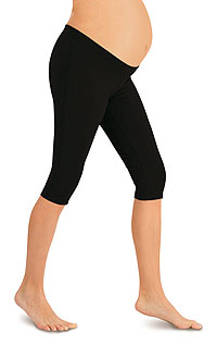 Maternity wear LITEX > Maternity 3/4 length leggings.