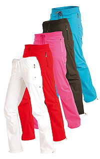 Women´s low waist long trousers - short legs. LITEX