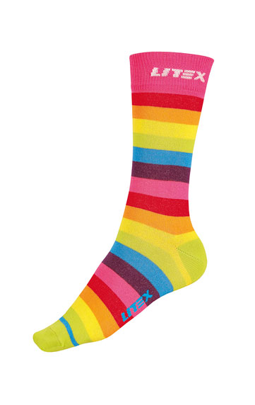 Dizajnové ponožky.   Ponožky LITEX