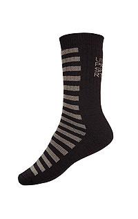 Litex Termo ponožky. - vel. 30-31 tmavě šedá