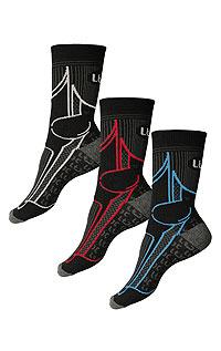 Litex Trekové ponožky. 9A01330-31 503 - vel. 30-31 tyrkysová