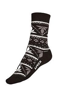Litex Termo ponožky. - vel. 30-31 černá