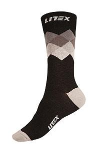 Litex Designové ponožky. - vel. 30-31 šedá