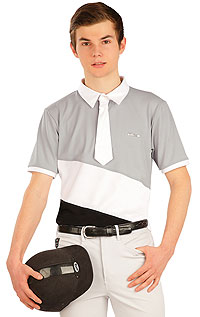 Equestrian clothing LITEX > Polo men´s racing t-shirt.