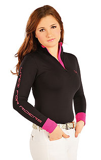 Riding T-shirts LITEX > Women´s shirt with long sleeves.