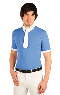 Polo men´s racing t-shirt. | Equestrian clothing LITEX