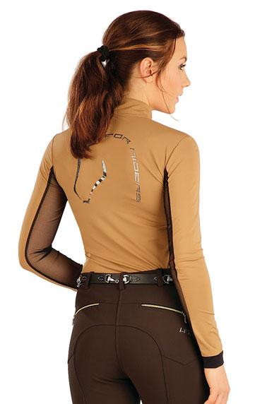 Tričko dámske s dlhým rukávom. | Jazdecké tričká LITEX