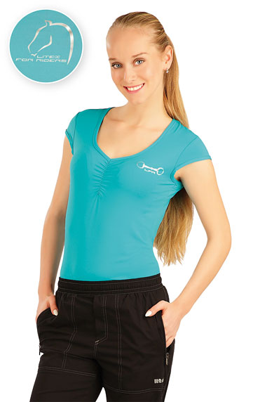 Tričko dámske s krídelkovým rukávom. | Jazdecké tričká LITEX