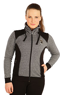 Hoodies, jackets and vests LITEX > Women´s jacket with stand up collar.