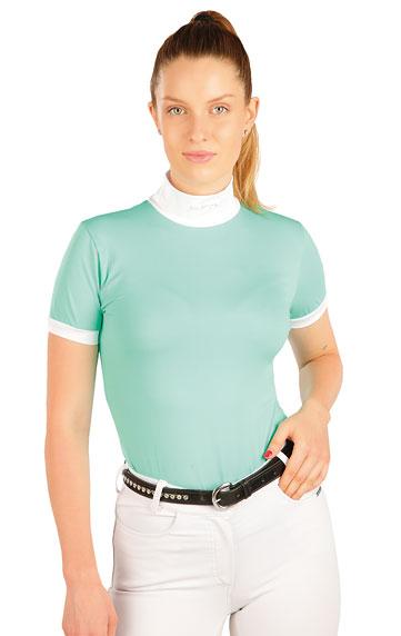 Tričko dámske/detské s krátkym rukávom.   Jazdecké tričká LITEX