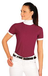 Jazdecké oblečenie LITEX > Tričko dámske s krátkymi rukávmi.