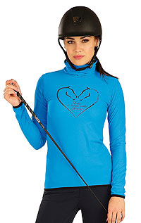 Hoodies, jackets and vests LITEX > Women´s  turtleneck with long sleeves.