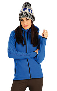 Hoodies, jackets and vests LITEX > Women´s hooded jacket.
