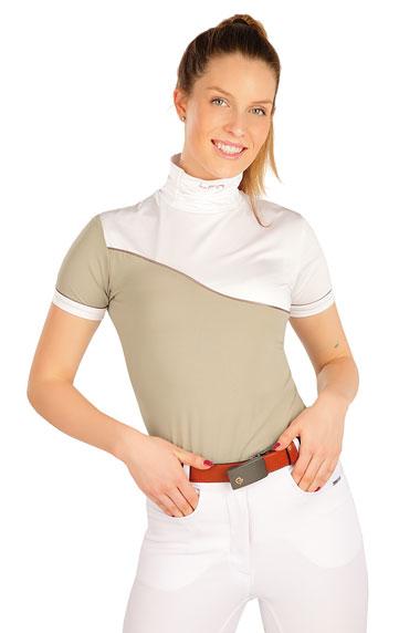 Tričko dámske s krátkym rukávom.   Jazdecké tričká LITEX