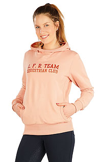 Hoodies, turtlenecks LITEX > Women´s hoodie jacket.