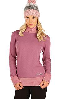 Reitbekleidung LITEX > Damen Rollkragenpullover mit langen Ärmeln.